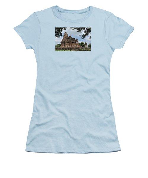 Khajuraho Temples 4 Women's T-Shirt (Athletic Fit)