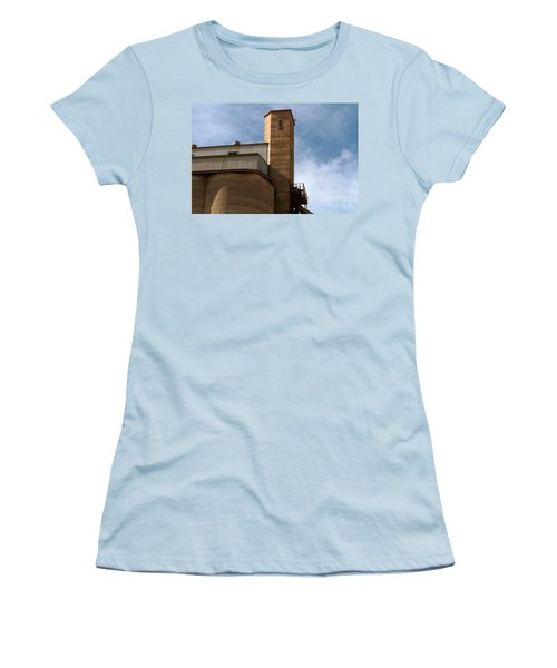 Women's T-Shirt (Athletic Fit) featuring the photograph Kingscote Castle by Stephen Mitchell
