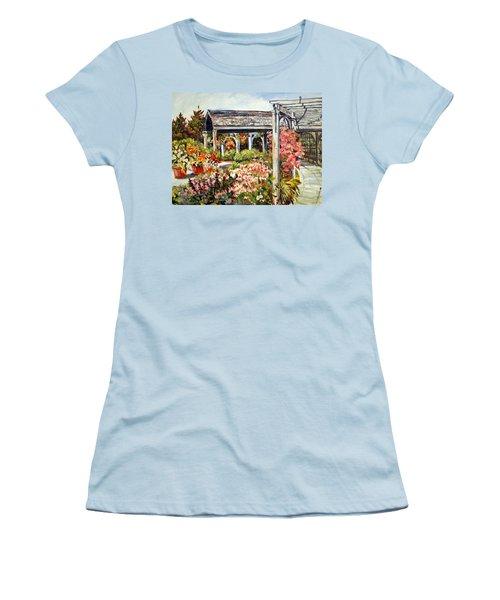 Klehm Arboretum I Women's T-Shirt (Junior Cut) by Alexandra Maria Ethlyn Cheshire