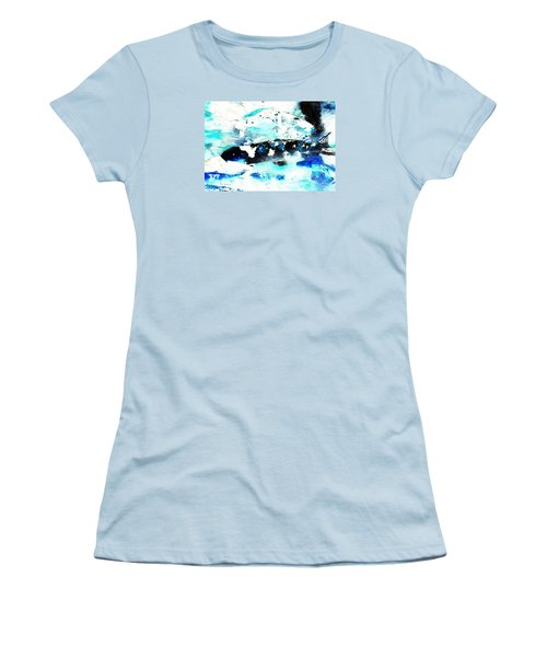 Koi Abstract 2 Women's T-Shirt (Athletic Fit)