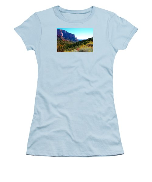 Kolob Canyon Women's T-Shirt (Athletic Fit)