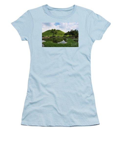 Kyongju, Tumuli Park Women's T-Shirt (Athletic Fit)