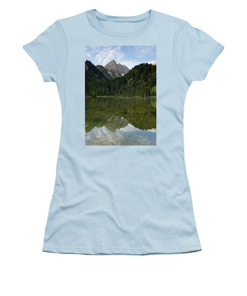 Lac Des Plagnes Women's T-Shirt (Athletic Fit)