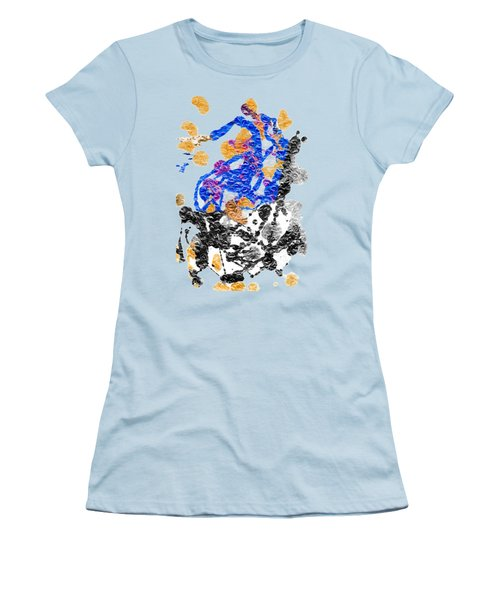 Lady In Blue Women's T-Shirt (Athletic Fit)