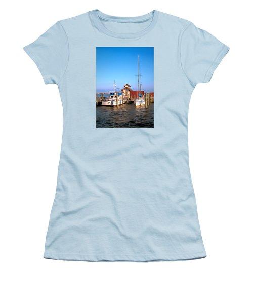 Laid Back Women's T-Shirt (Junior Cut) by Marion Johnson