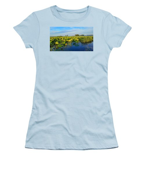 Pointe Mouilee Lake Erie Women's T-Shirt (Athletic Fit)