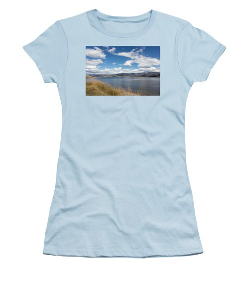 Lake Granby -- The Third-largest Body Of Water In Colorado Women's T-Shirt (Junior Cut) by Carol M Highsmith