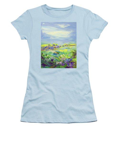 Land Of Milk And Honey Women's T-Shirt (Junior Cut) by Tatiana Iliina