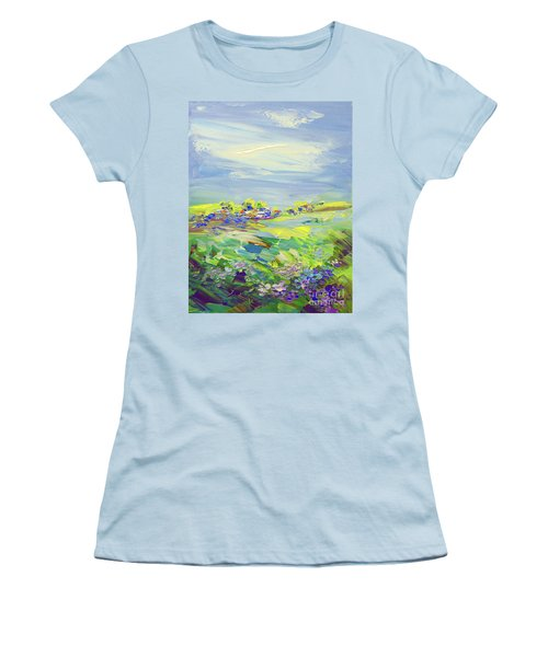 Land Of Milk And Honey Women's T-Shirt (Athletic Fit)