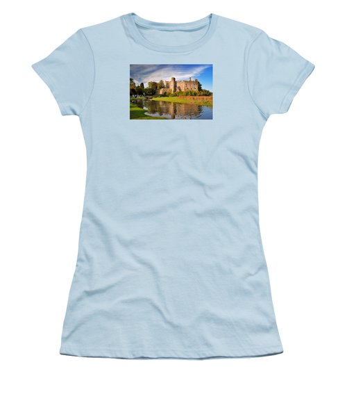 Laugharne Castle 1 Women's T-Shirt (Athletic Fit)