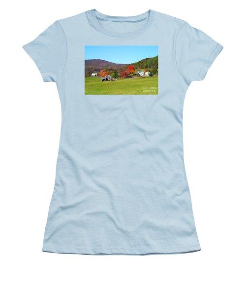 Laura's Farm Women's T-Shirt (Athletic Fit)