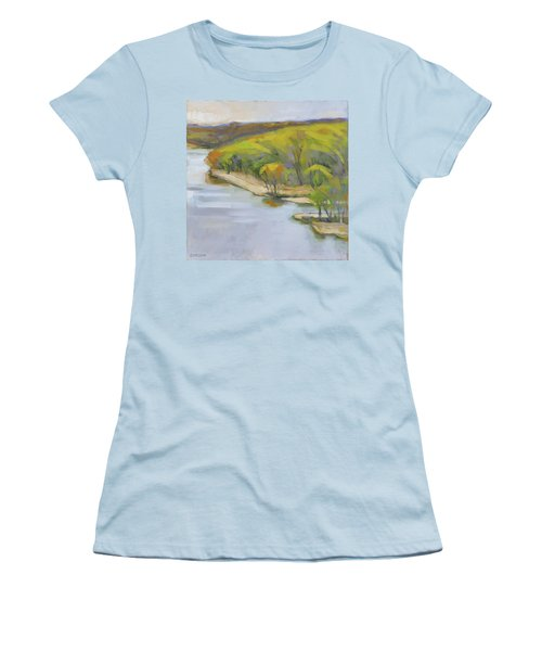 Leaf Out Women's T-Shirt (Athletic Fit)