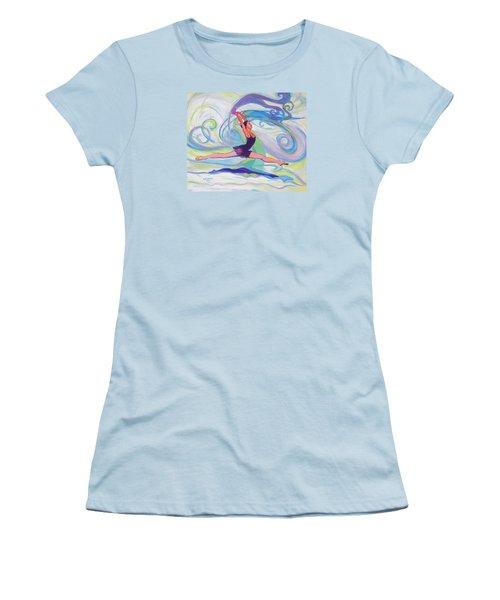 Leap Of Joy Women's T-Shirt (Athletic Fit)