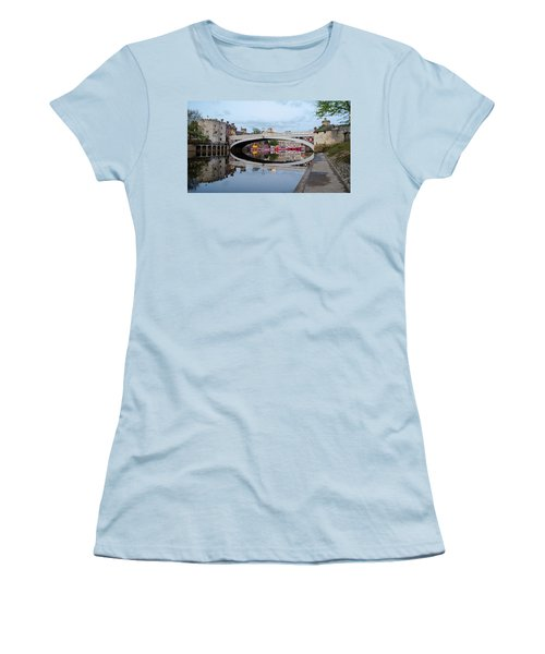 Lendal Bridge Reflection  Women's T-Shirt (Athletic Fit)