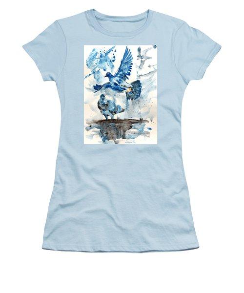 Let Me Free Women's T-Shirt (Junior Cut) by Jasna Dragun