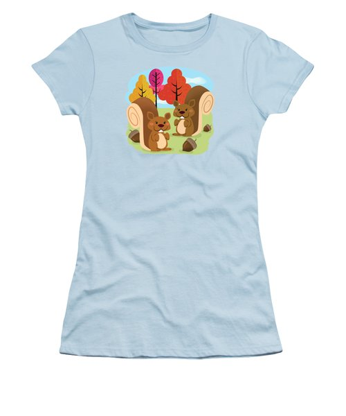 Let The Acorns Fall Women's T-Shirt (Athletic Fit)
