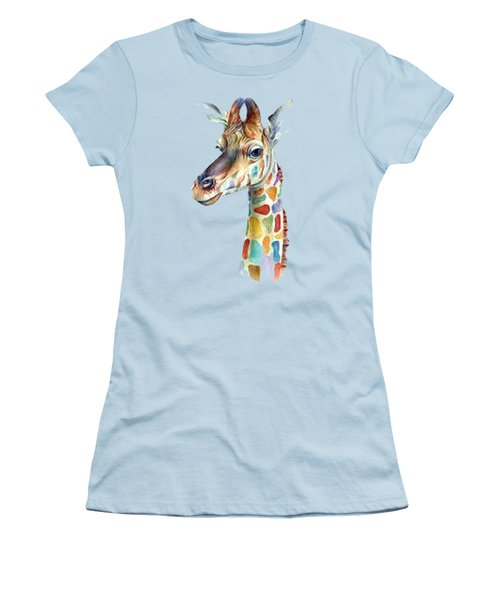 Let's Neck T-shirt Women's T-Shirt (Junior Cut) by Herb Strobino