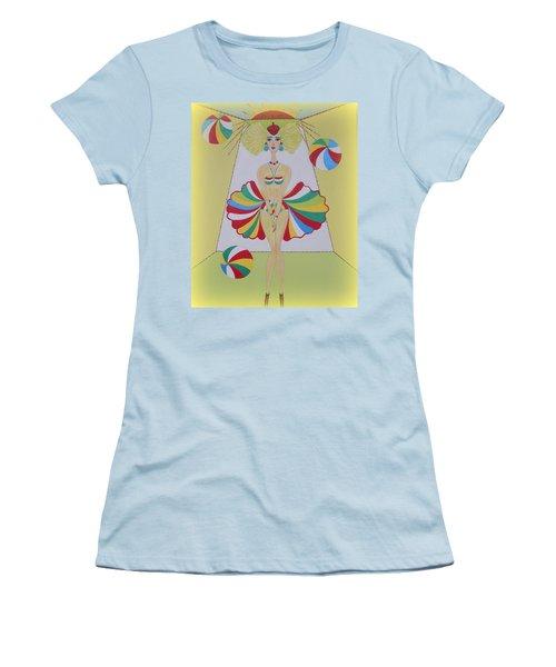 Let's Play Balls Women's T-Shirt (Junior Cut) by Marie Schwarzer