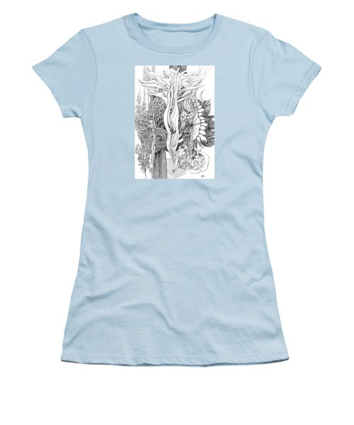 Life Force Women's T-Shirt (Junior Cut) by Charles Cater
