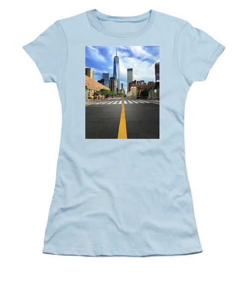 Life Is A Highway Women's T-Shirt (Athletic Fit)