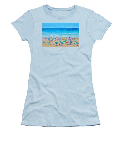 Life On The Beach Women's T-Shirt (Junior Cut) by Jan Matson