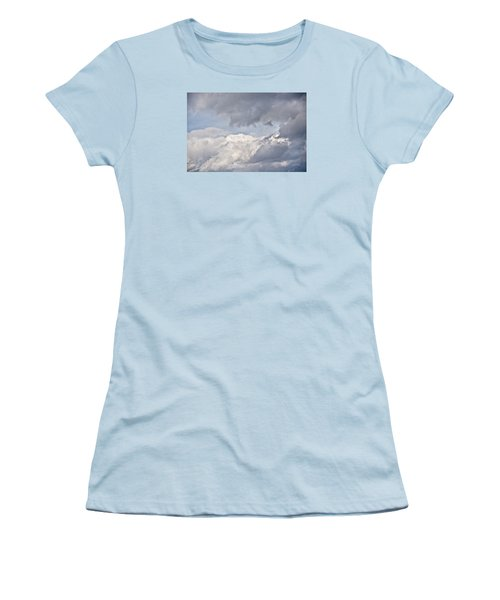 Women's T-Shirt (Athletic Fit) featuring the photograph Light And Heavy by Wanda Krack