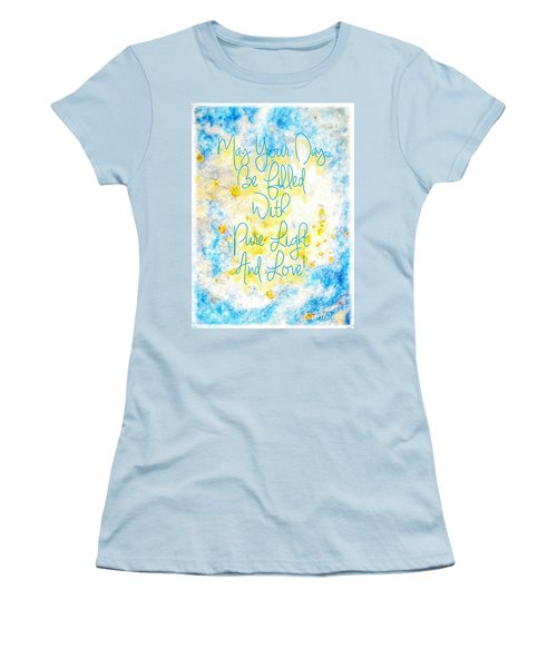 Light And Love Women's T-Shirt (Athletic Fit)