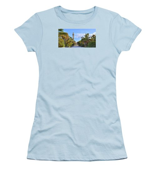 Light At The End Of The Road Women's T-Shirt (Junior Cut) by Sean Allen