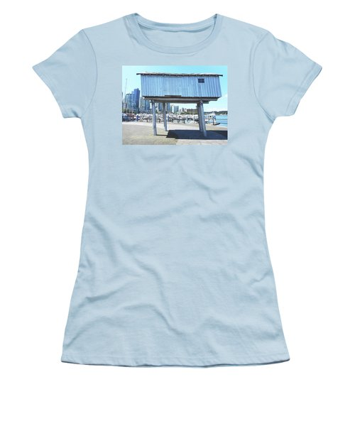 Light Shed 1 Women's T-Shirt (Athletic Fit)