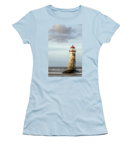 Lighthouse Revisited Women's T-Shirt (Athletic Fit)