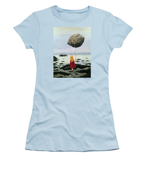 Lightness Of Being Women's T-Shirt (Athletic Fit)