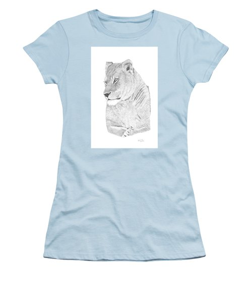 Lioness Women's T-Shirt (Athletic Fit)