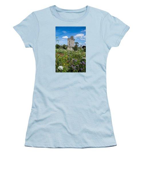 Lismore Castle Gardens Women's T-Shirt (Junior Cut) by Martina Fagan