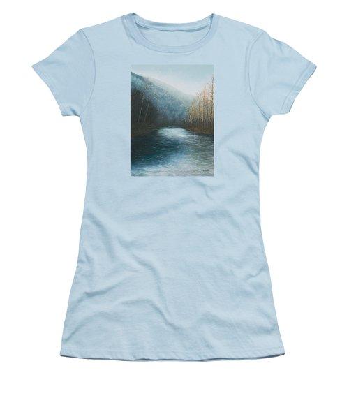 Little Buffalo River Women's T-Shirt (Athletic Fit)