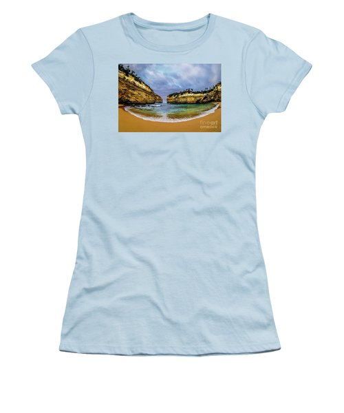 Loch Ard Gorge Women's T-Shirt (Athletic Fit)