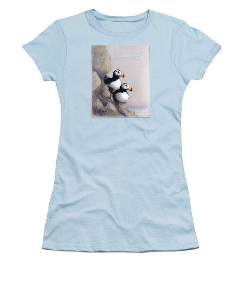 Lofty View Women's T-Shirt (Junior Cut) by Phyllis Howard