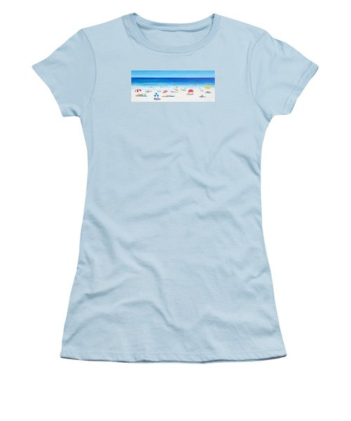 Long Hot Summer Women's T-Shirt (Junior Cut) by Jan Matson