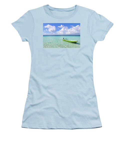 Look At This Beautiful Blue Water Women's T-Shirt (Athletic Fit)