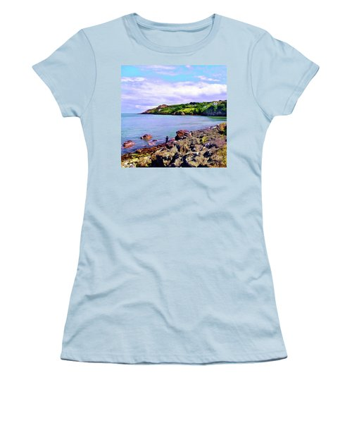 Looking Across Women's T-Shirt (Athletic Fit)