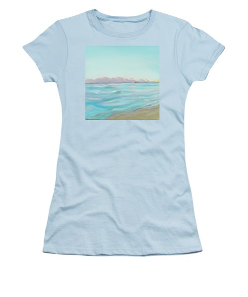 Looking South Tryptic Part 2 Women's T-Shirt (Athletic Fit)