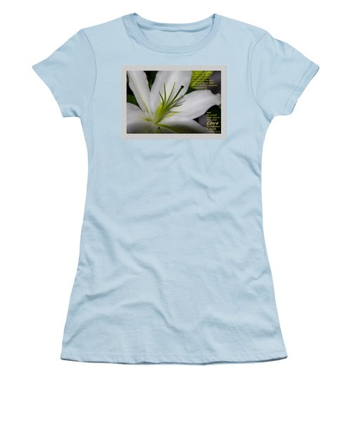 Love Women's T-Shirt (Junior Cut)