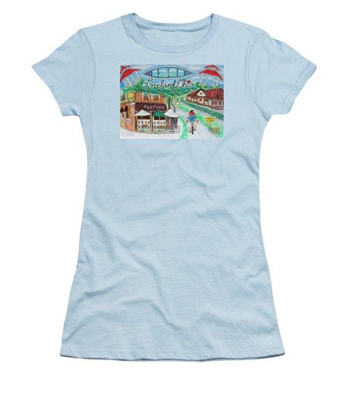 Loveland Ohio Women's T-Shirt (Athletic Fit)