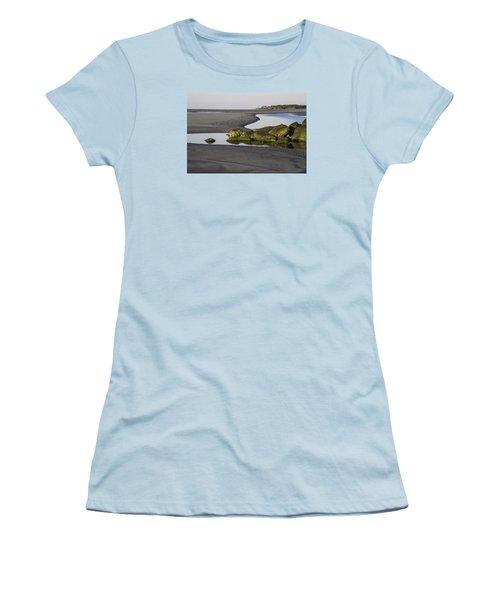 Low Tide On Tybee Island Women's T-Shirt (Athletic Fit)