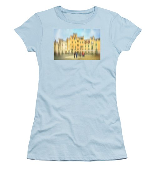 Lucca Ampitheatre Impression 2 Women's T-Shirt (Junior Cut) by Marty Garland