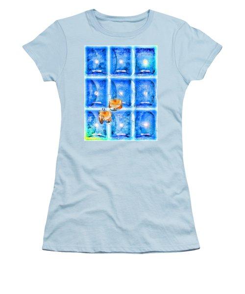 Lunar Balance Women's T-Shirt (Athletic Fit)