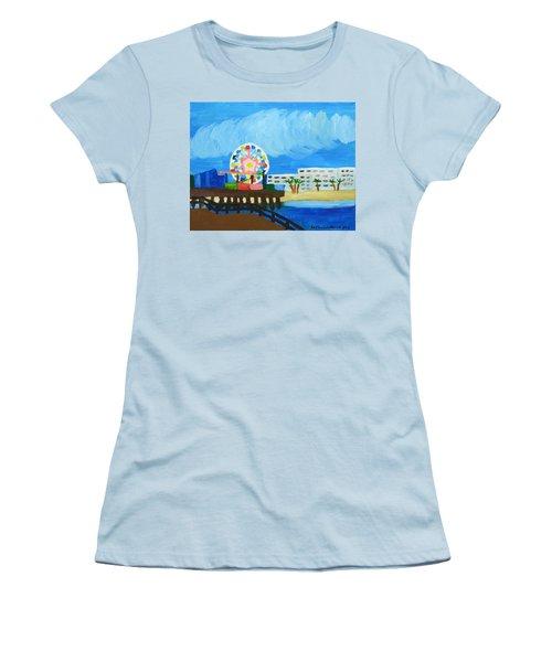 Lyndas Ferris Wheel Women's T-Shirt (Junior Cut) by Anthony Larocca