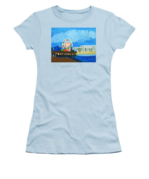 Lyndas Ferris Wheel Women's T-Shirt (Athletic Fit)