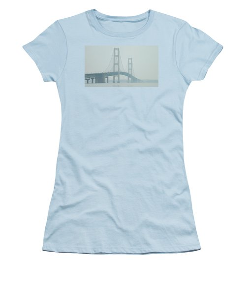 Mackinac Bridge Women's T-Shirt (Athletic Fit)