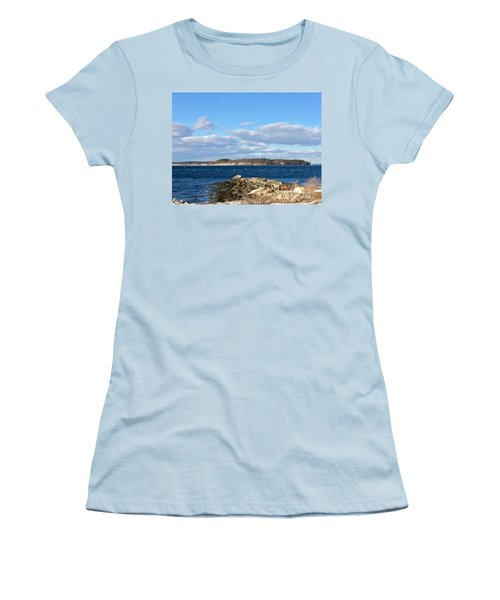 Mackworth Island Falmouth Maine Women's T-Shirt (Athletic Fit)