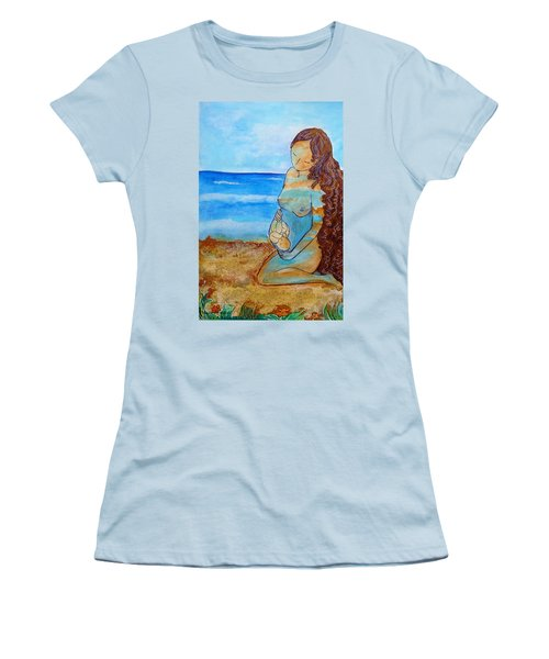 Made Of Water Women's T-Shirt (Junior Cut) by Gioia Albano